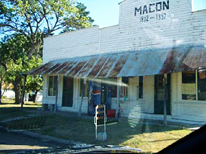 Old Store Front, Macon