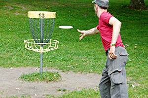 Rattle Snake Disc Golf Course in Deshler