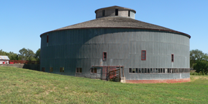 Starke Round Barn, 4.5 miles east of Red Cloud near Amboy