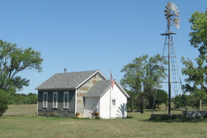 Yost One Room School House and Cottage, 1144 Road GH in Red Cloud
