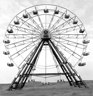 The OLD ferris wheel at the Furnas County fairgrounds