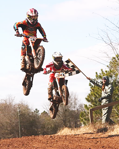 The Alma Motocross Track hosts multiple summertime races