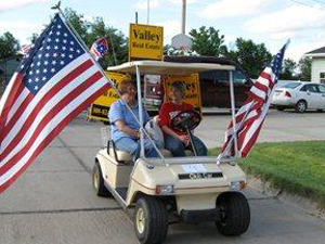 July 4 parade, Alma