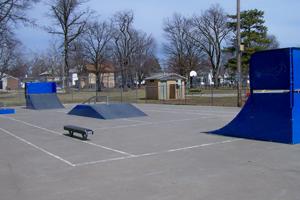 Skate Park in Falls City